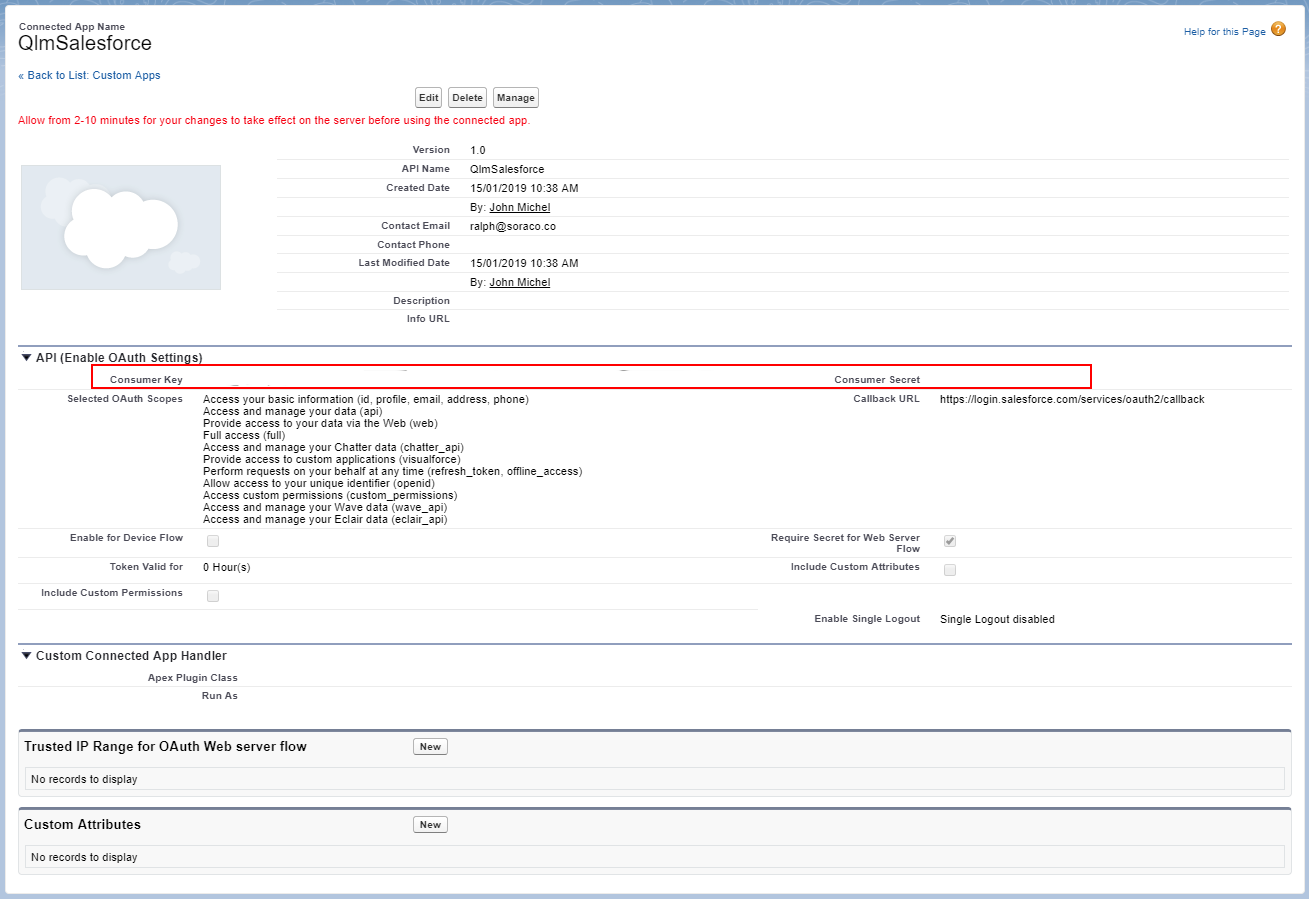 Salesforce integration - how to automatically create a